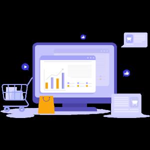 Magazin Online, eCommerce, dropshipping, administrare, dezvoltare web, cumparaturi digitale.